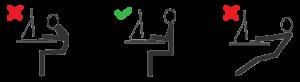 مرحله اول در آموزش تایپ ده انگشتی فارسی
