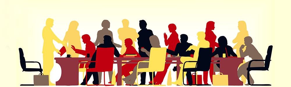اعضای حاضر در جلسه